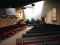 Lansing presbyterian church interior